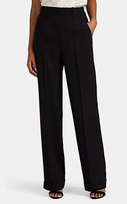 Altuzarra Women's Gavi Wool Wide-Leg Pants - Black