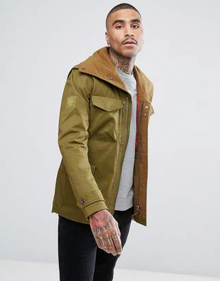 Pretty Green Roeburn Jacket In Green
