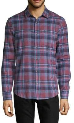 Original Penguin Long-Sleeve Twisted Flannel