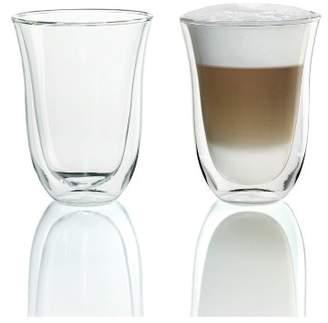 De'Longhi DeLonghi 7.5 fl oz 2 Latte Double Wall Thermal Glasses