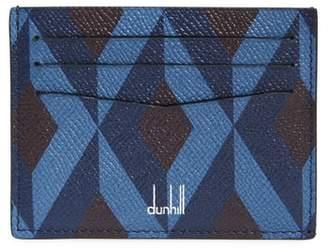 Dunhill Cadogan Diamond Print Leather Card Case