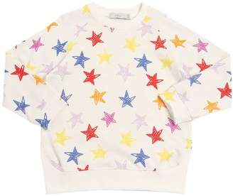 Stella McCartney Star Printed Cotton Sweatshirt
