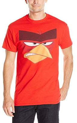 Angry Birds Men's Angry Big Face Men's T-Shirt