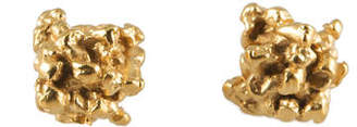 Michelle Oh Little Stud Earrings In 9k Gold