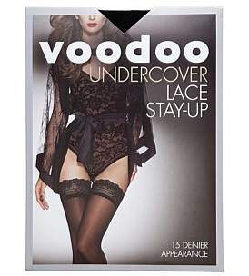 Voodoo Uncercover Lace 15D Stay-Up