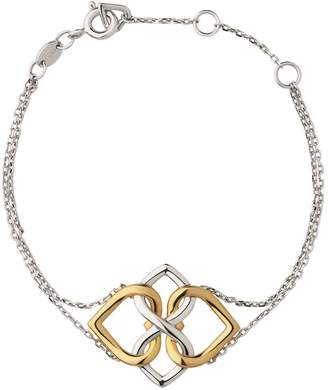 Links of London Yellow Gold Vermeil & Sterling Silver Infinite Love Bracelet