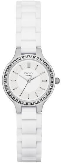 DKNYDKNY Women&s White Ceramic Bracelet Watch