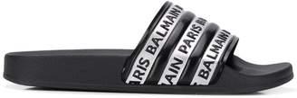 Balmain branded sliders