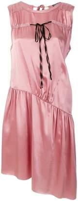 Ann Demeulemeester asymmetric drop-waist dress