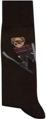 Ralph Lauren Skiing Polo Bear Socks
