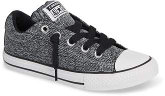 Converse R) Graphite Textured Street Low Top Sneaker