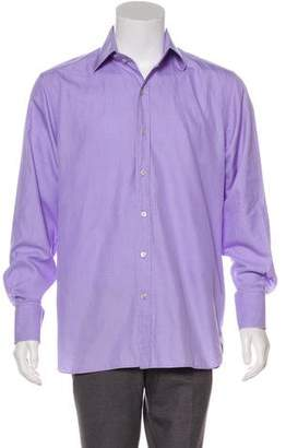 Tom Ford Pattern Button-Up Shirt
