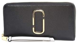 Marc Jacobs Snapshot Standard Color-block Saffiano-leather Continental Wallet