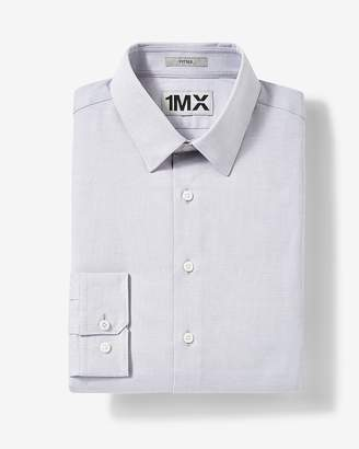 Express Extra Slim Easy Care Patterned 1Mx Shirt