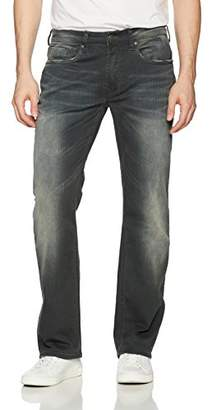 Buffalo David Bitton Men's Driven-x Relaxed Straight Fit Vintage and Stretch Denim Pant