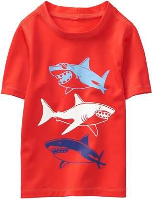 Crazy 8 Crazy8 Shark Rash Guard