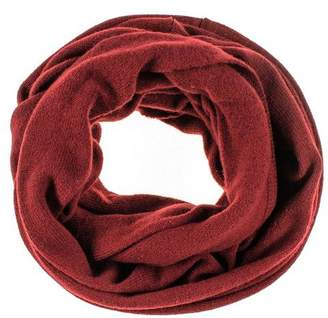 Black Burgundy Double Size Knitted Cashmere Snood