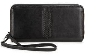 Kooba Calgary Leather Wristlet Clutch