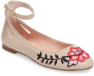 Kate Spade Warren Leather Ballet Flat
