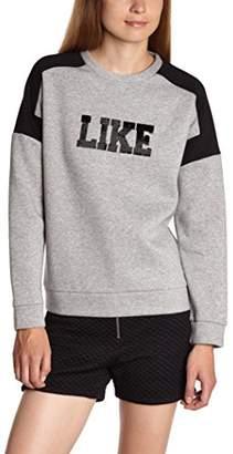 American Retro Women's's Rafi Sweater Sweatshirt, (Grey), 6 (Size: 00)