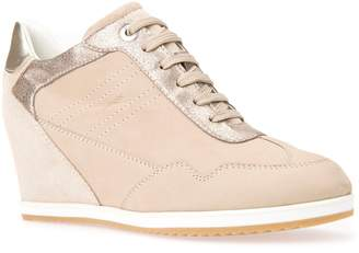 Geox Illusion 34 Wedge Sneaker