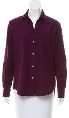 Frank And Eileen Long Sleeve Button-Up Top