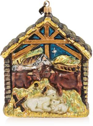 Jay Strongwater Holy Family Ornament