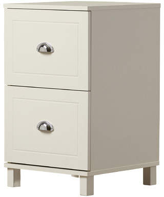 Beachcrest Home Fifield 2 Drawer Filing Cabinet