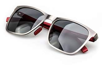 COLOSSEIN Label Sunglasses,Metal Frame,Carbon Fibre Arm,Polarized Lens.