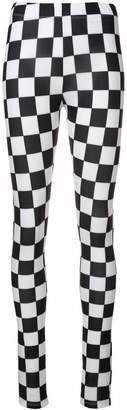 Versus checkered leggings