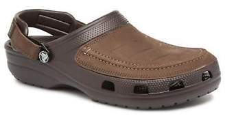 Crocs Men's Yukon Vista Clog M Strap Sandals In Brown - Size Uk 6 / Eu 39 - 40