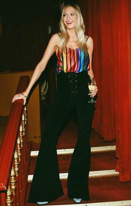 Show Me Your Mumu Julia Top ~ Rainbow Parade Pleat