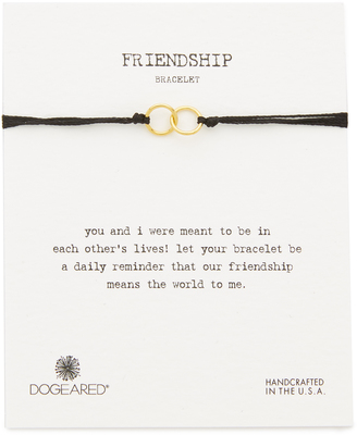Dogeared Friendship Bracelet $25 thestylecure.com