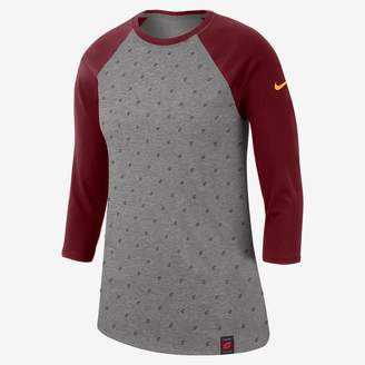 Nike Women's 3/4-Sleeve NBA T-Shirt Cleveland Cavaliers Dri-FIT