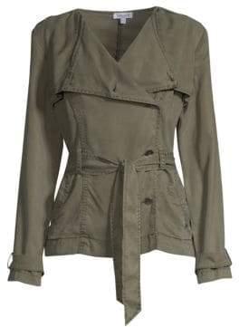 Splendid Belted Military Jacket