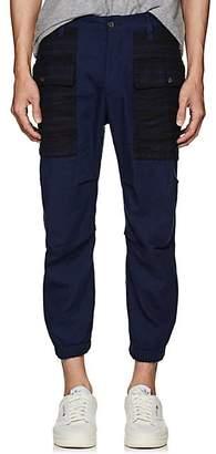 DSQUARED2 Men's Cotton Twill Cargo Jogger Pants - Blue Size 46 Eu