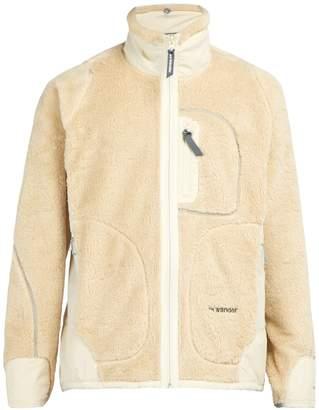 LOFT AND WANDER High polar-fleece jacket