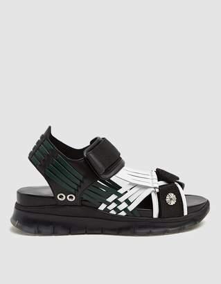 efb31f4cda9 Toga Pulla AJ976 Sandal in Black White