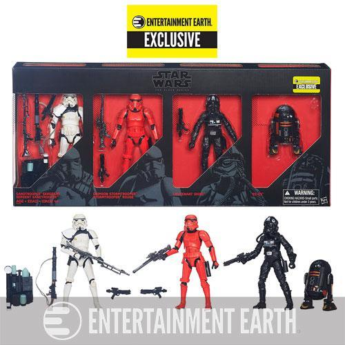 "Hasbro Star Wars Imperial Forces Black Series 6"" Action Figure Set"