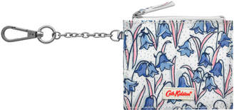 Cath Kidston Bluebells Side Pleat Purse with Key Chain