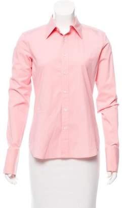 Ralph Lauren Black Label Tailored Button-Up Top
