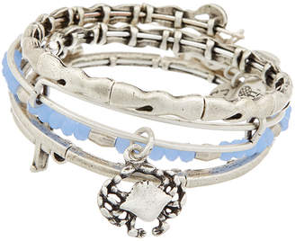 Alex and Ani Set Of 4 Nautical Expandable Bangles