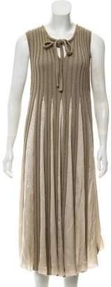 Bottega Veneta Knit Maxi Dress