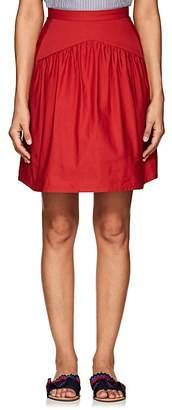 Atlantique Ascoli Women's Jupe Cotton-Linen Skirt