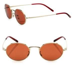 Oliver Peoples Empire Suite 49MM Oval Sunglasses