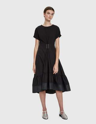 3.1 Phillip Lim Short Sleeve Corset Dress