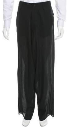 Alexandre Plokhov Wool Drop Crotch Pants