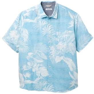 Tommy Bahama Grande Fronds Short Sleeve Print Shirt (Big & Tall)