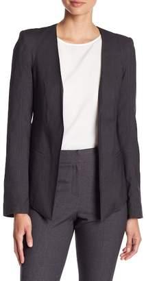 James Jeans Long Sleeve Solid Blazer