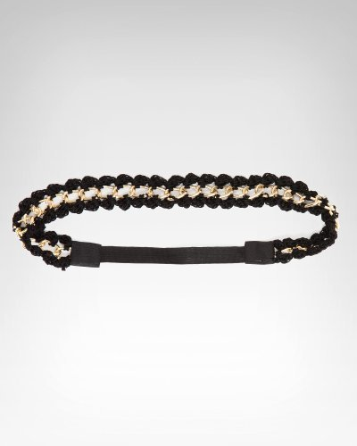 Crochet Chain Weave Headband